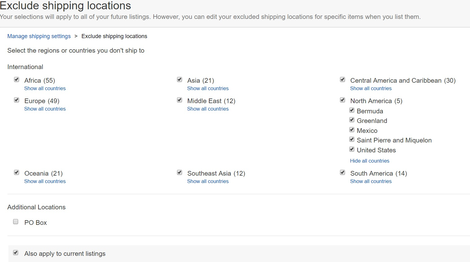 How To Make It Ship To Canada And The Usa Only The Ebay Canada Community