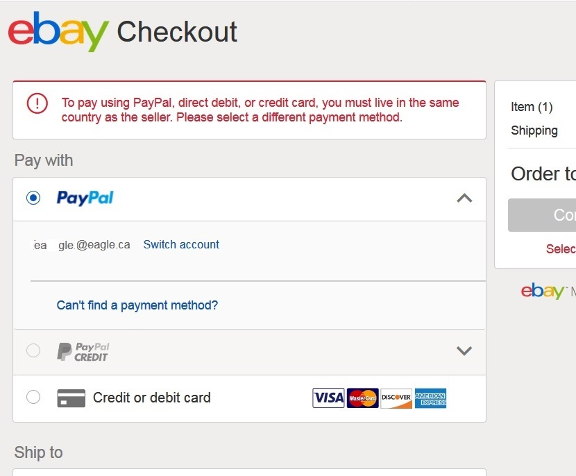 Solved: paypal no longer does international payments   - The