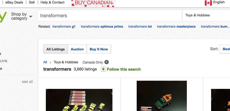 Buy Canadian Promo The Ebay Canada Community