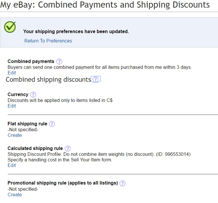 Lost Another Combined Shipping Order The Ebay Canada Community