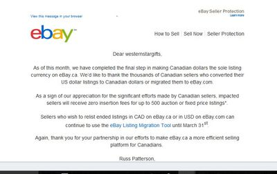 Has Anyone Else Received This Promo From Ebay The Ebay Canada Community