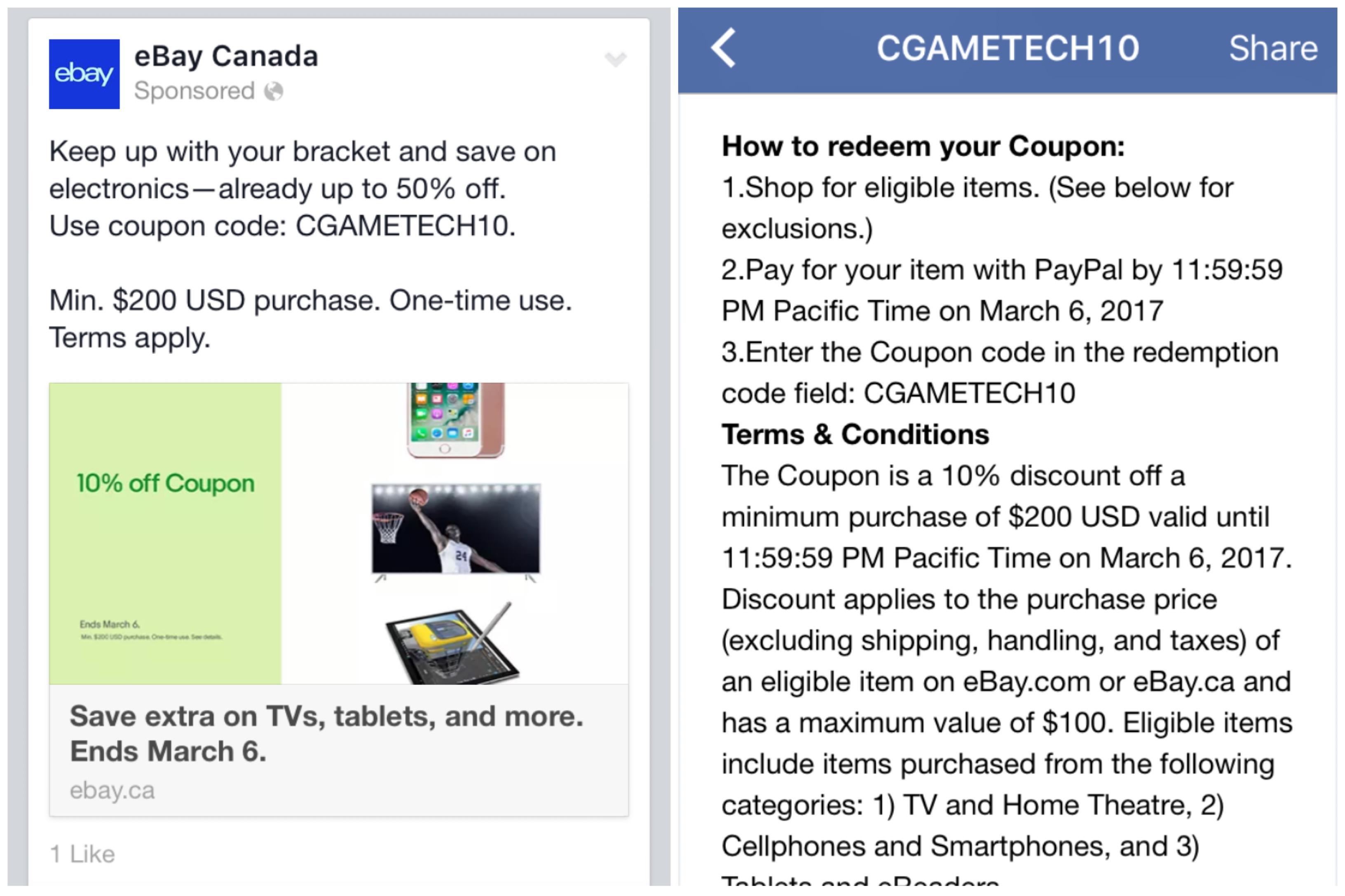 Tech Coupon Alert The Ebay Canada Community