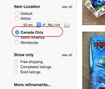 Solved Global Shipping Program The Ebay Canada Community