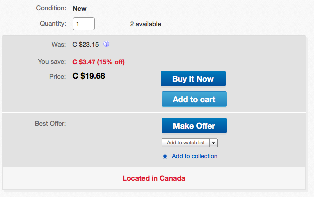 It Looks Like The Item Page Watchers Are Back The Ebay Canada Community