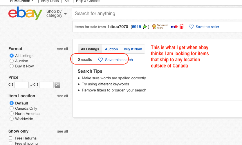 0 Results Found In All Categories The Ebay Canada Community