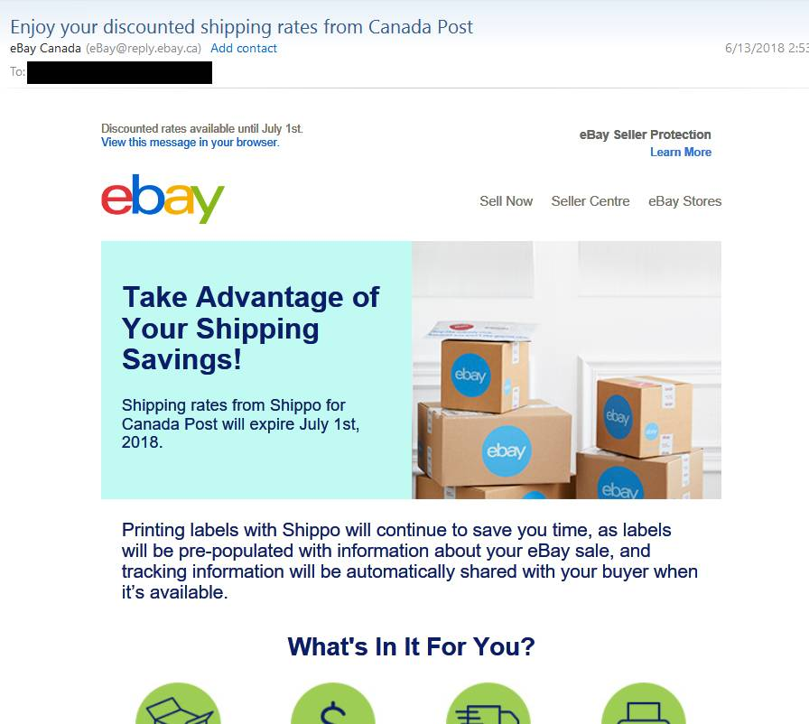 Letter From Ebay Re Shippo The Ebay Canada Community