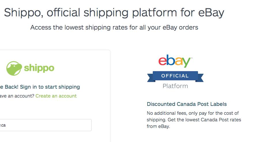New Shippo Rates The Ebay Canada Community