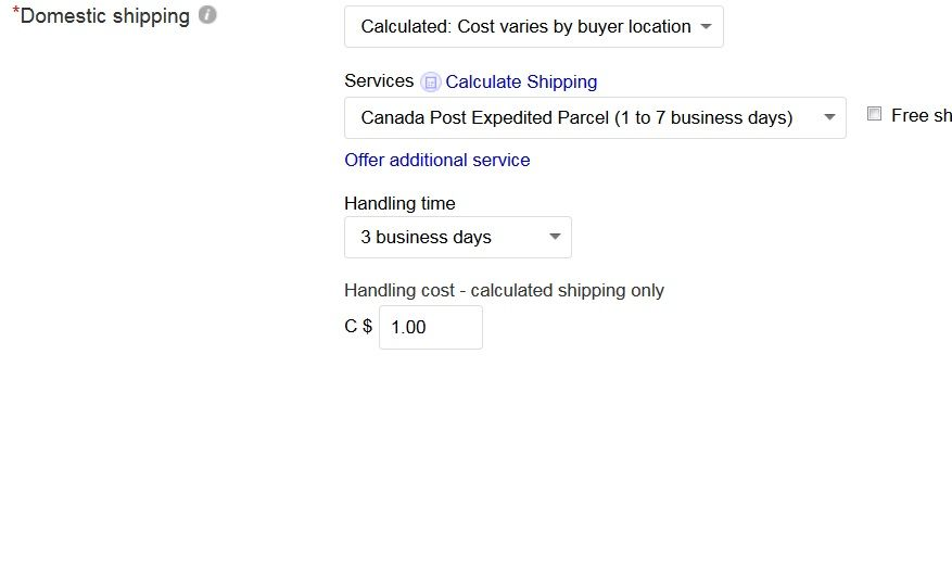 Shipping To Different Zones In Canada The Ebay Canada Community