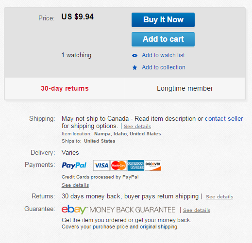 Global Shipping Program Is Ridiculous        - Page 2 - The eBay